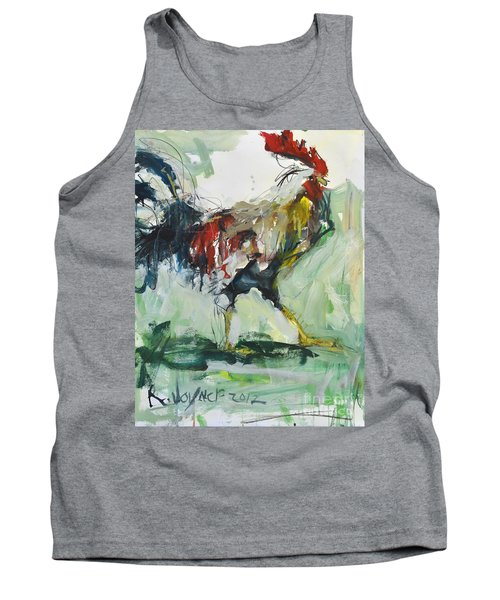 Rooster Painting Tank Top