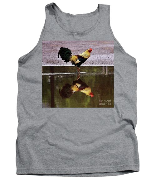 Rooster's Reflection Tank Top