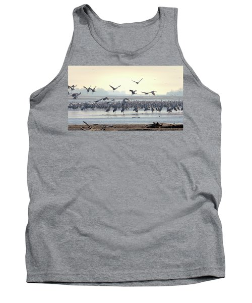 Roosting On The Platte Tank Top