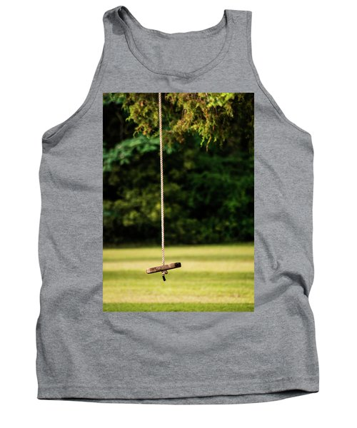 Tank Top featuring the photograph Rope Swing  by Shelby Young