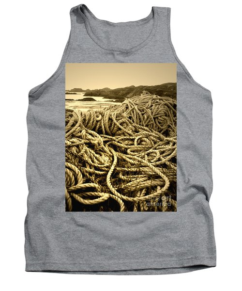 Ropes On Shore Tank Top