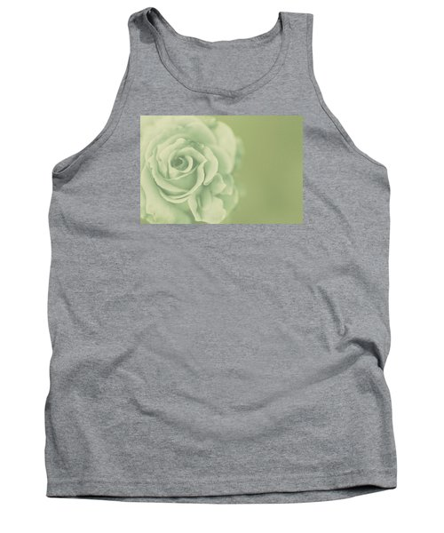 Tank Top featuring the photograph Rose Antique by The Art Of Marilyn Ridoutt-Greene