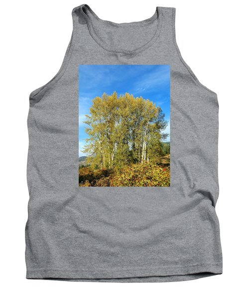 Rosehips And Cottonwoods Tank Top by Will Borden