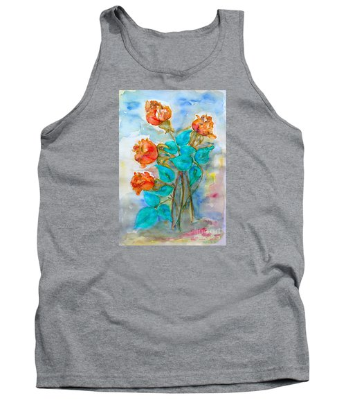 Roses Buds Tank Top