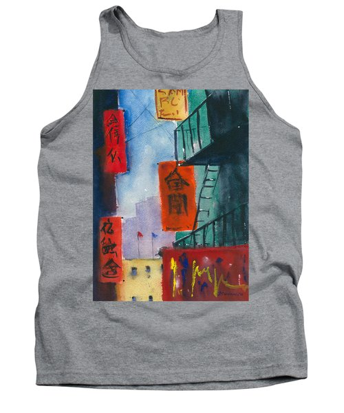Ross Alley, Chinatown Tank Top