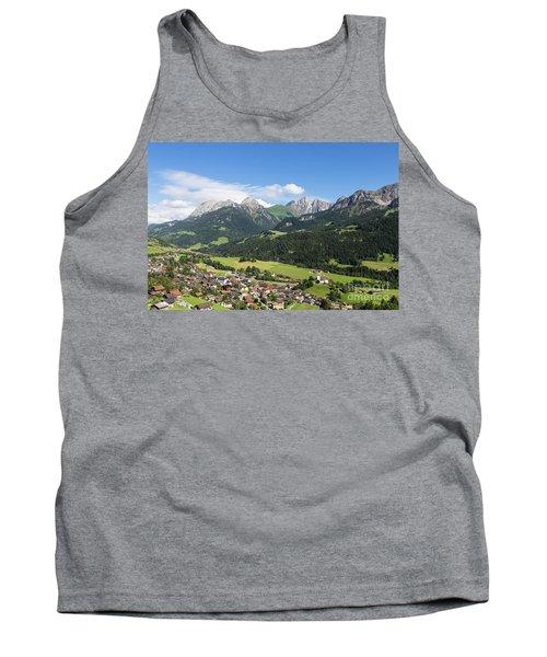 Rougemont Village In Switzerland Tank Top