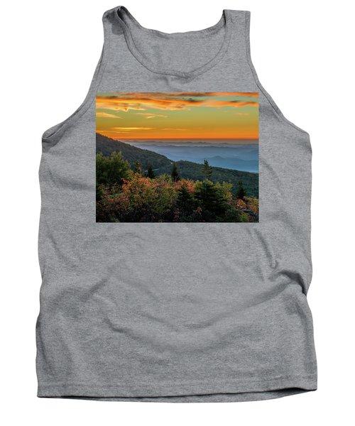 Rough Morning - Blue Ridge Parkway Sunrise Tank Top