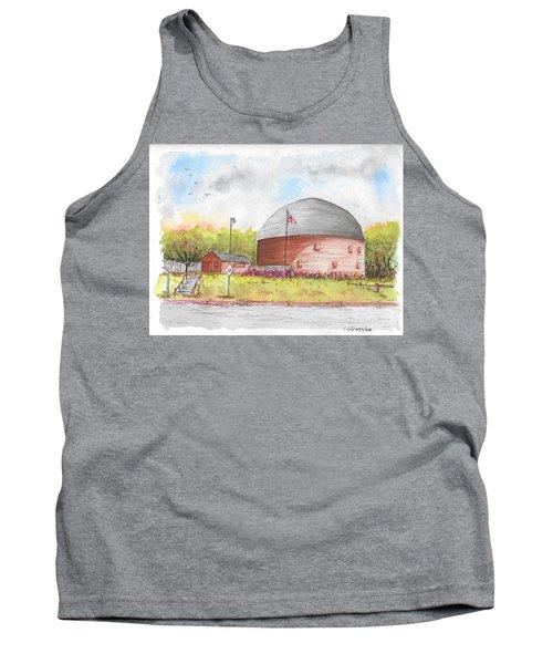 Round Barn In Route 66, Arcadia, Oklahoma Tank Top