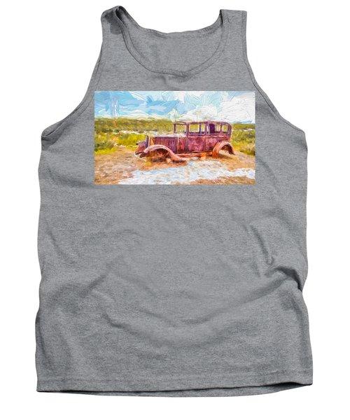 Route 66 Studebaker Tank Top