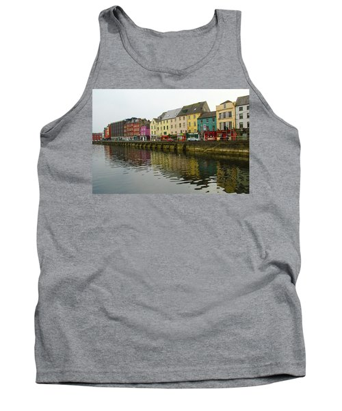 Row Homes On The River Lee, Cork, Ireland Tank Top