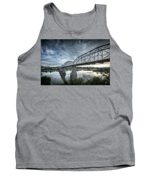 Rowing Under Walnut Street Tank Top