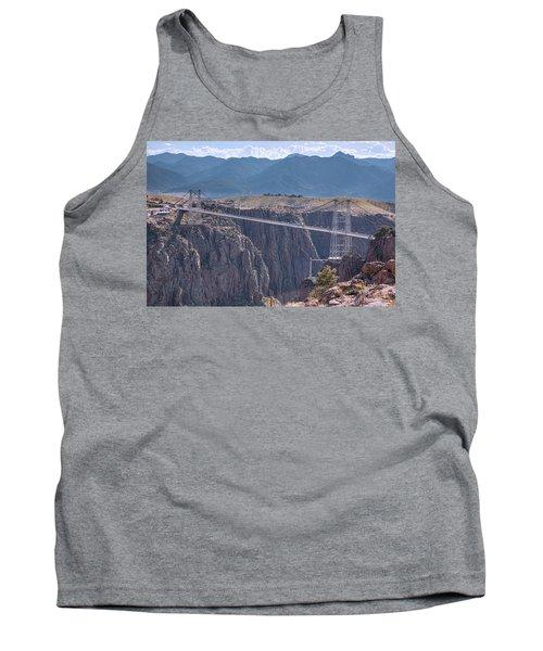 Royal Gorge Bridge Colorado Tank Top by James BO Insogna