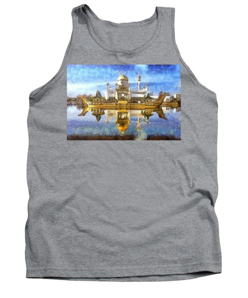 Royal Mosque  Tank Top