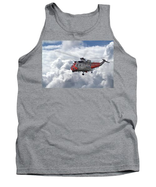 Tank Top featuring the photograph Royal Navy - Sea King by Pat Speirs