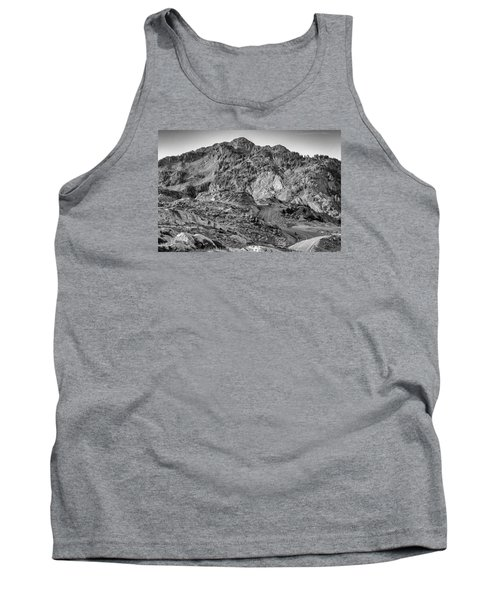 Rugged Mountains Tank Top by Sabine Edrissi