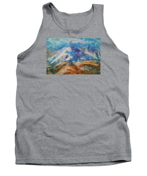 Rugged Terrain Tank Top by Becky Chappell