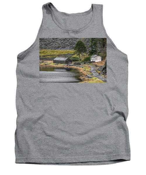 Tank Top featuring the photograph Ruins At Cwmorthin by Adrian Evans