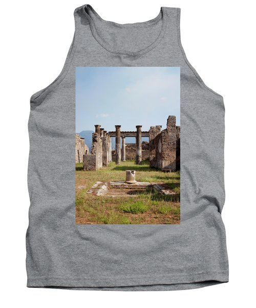 Ruins Of Pompeii Tank Top by Ivete Basso Photography