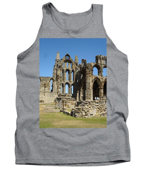 Ruins Of Whitby Abbey Tank Top