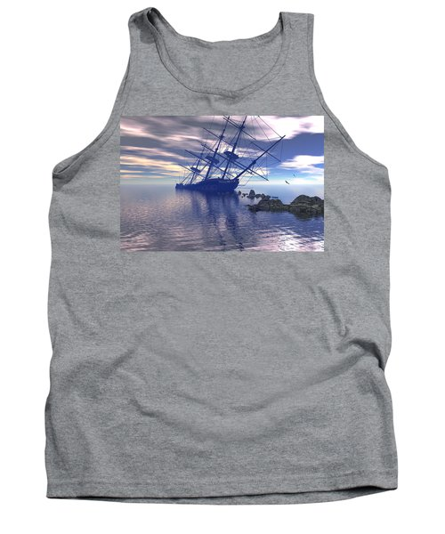 Run Aground Tank Top by Claude McCoy