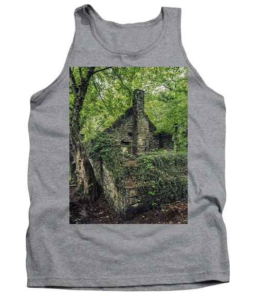 Tank Top featuring the photograph Run Down Mill by Nick Bywater