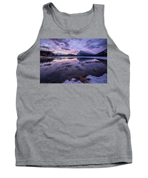 Rundle Mountain Skies Tank Top
