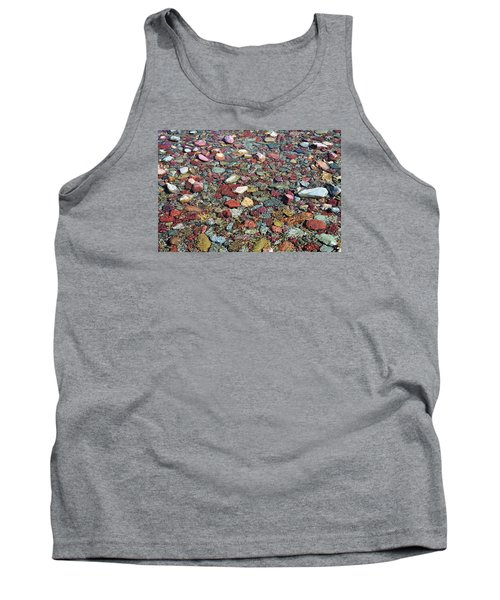 Tank Top featuring the photograph Running Eagle Falls 2 by Dacia Doroff