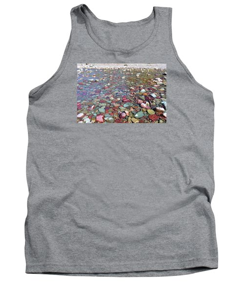 Tank Top featuring the photograph Running Eagle Falls by Dacia Doroff