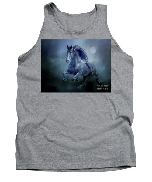 Running With The Moon Tank Top