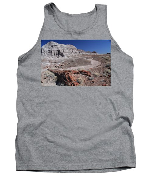 Tank Top featuring the photograph Runoff Obstacle by Gary Kaylor