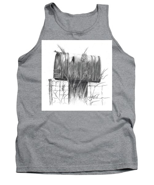 Rural Country Mailbox Tank Top