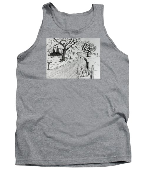 Rural Living Tank Top by Jack G Brauer
