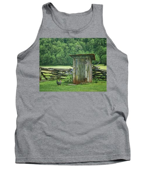 Rural Outhouse Tank Top