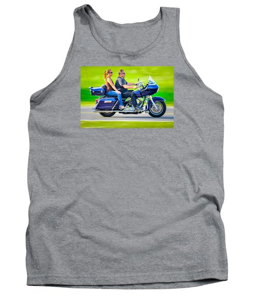 Tank Top featuring the photograph Rural Ride 2 by Brian Stevens