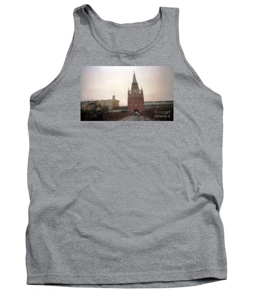 Russia Kremlin Entrance  Tank Top