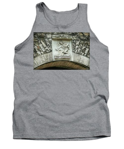 Tank Top featuring the photograph Russian To Swiss Dialect Translation by Hanny Heim