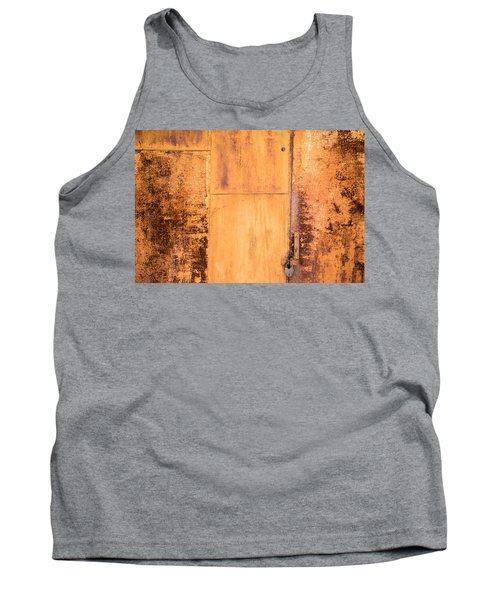 Tank Top featuring the photograph Rust On Metal Texture by John Williams