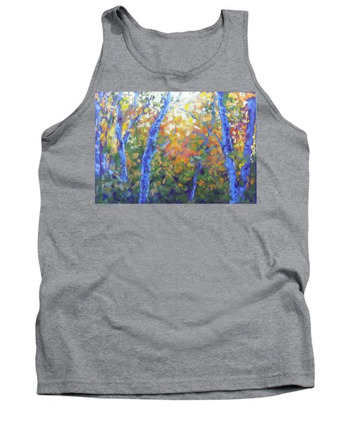 Rustlers Gulch Afternoon Tank Top by Becky Chappell