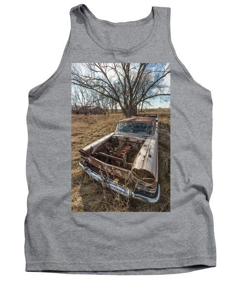 Rusty Tank Top by Aaron J Groen