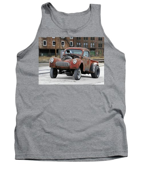 Rusty Gasser Tank Top by Christopher McKenzie