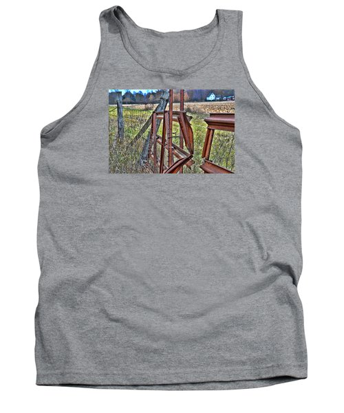 Rusty Gate Tank Top by Pat Cook