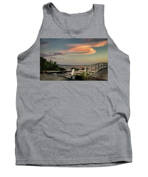 Time Is A River Tank Top by Phil Mancuso
