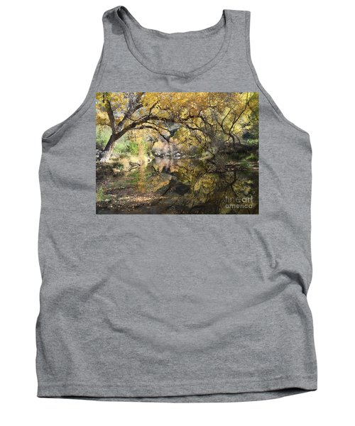 Sabino Canyon In Fall Tank Top