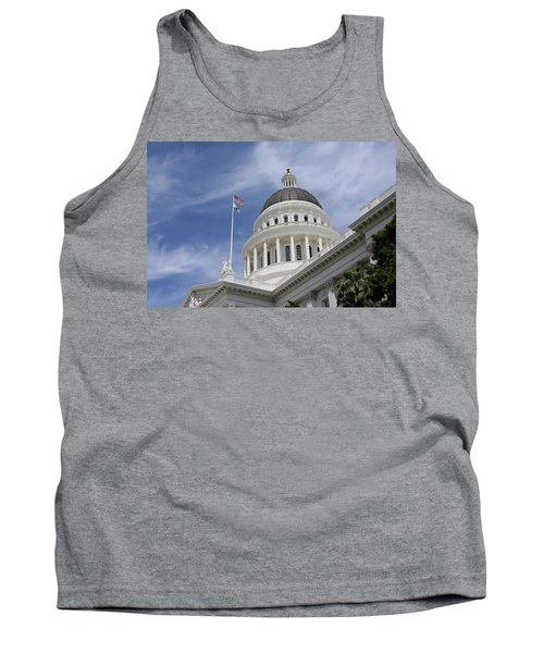 Sacramento Capitol Building Tank Top