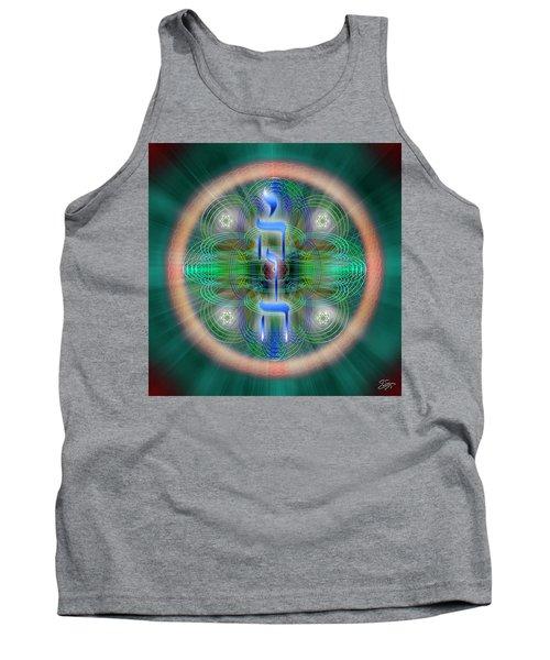 Sacred Geometry 648 Tank Top