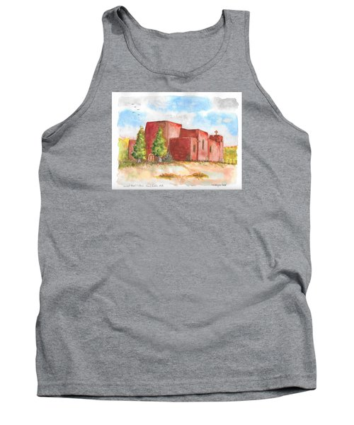 Sacred Heart Catholic Church, Nambe, New Mexico Tank Top