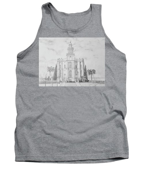 Sacred Steps - St. George Temple Tank Top
