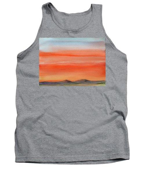 Saffron On The Mountains Tank Top