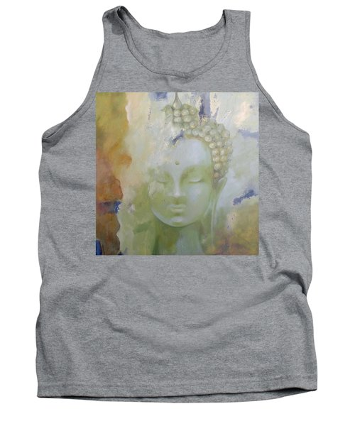 Tank Top featuring the painting Sage Buddha by Dina Dargo