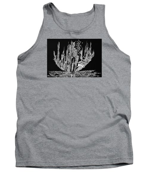 Sail Away Tank Top by Charles Cater
